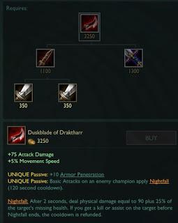 Dạ Kiếm Draktharr được giới game thủ chào đón.