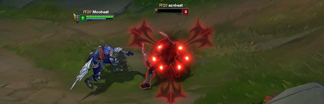 Sát thủ tung 1 bộ combo như Talon, Zed cực hợp với Dạ Kiếm Draktharr.