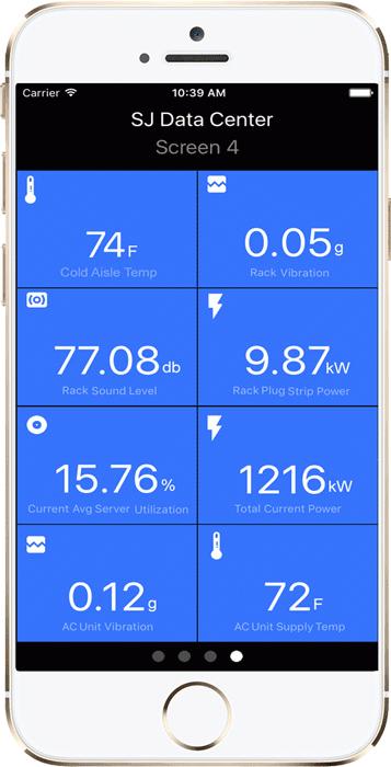 Giao diện RhythmOS trên iPhone