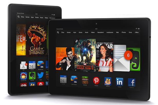 Hệ điều hành Fire OS của Amazon trên nền Android.