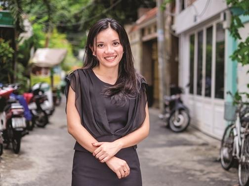 Văn Đinh Hồng Vũ - cô gái xinh đẹp sáng lập startup ELSA