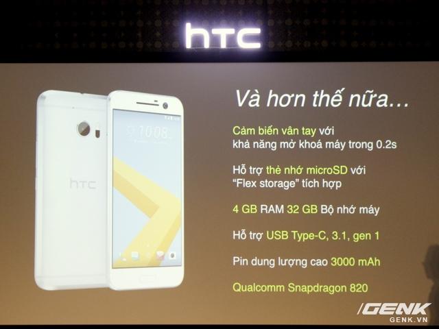 Những điểm nhấn của HTC 10 chính hãng