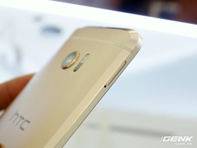Thiết kế HTC 10 đã trở nên hoàn thiện hơn
