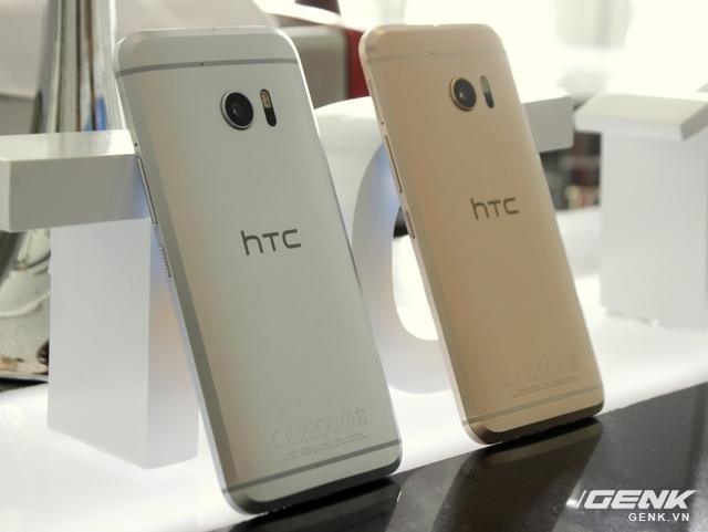 Chỉ có 2 phiên bản màu sắc dành cho HTC 10 chính hãng Việt Nam