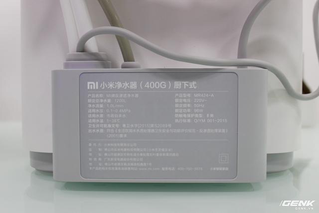 Giống với phiên bản 1, công suất của máy lọc này cũng là 96W.
