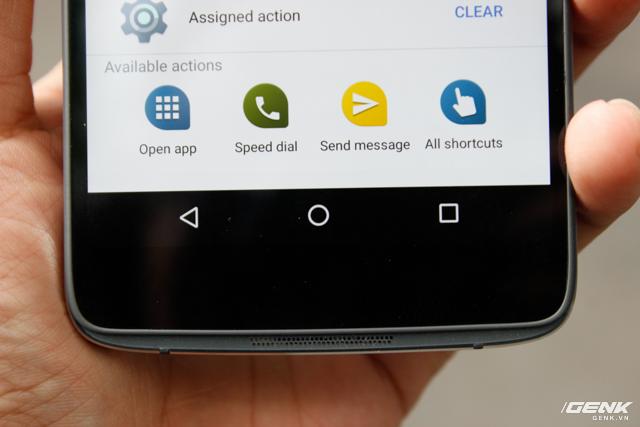 Bộ ba phím cơ bản của Android.