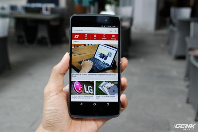 Trên tay BlackBerry DTEK50 tại Việt Nam.
