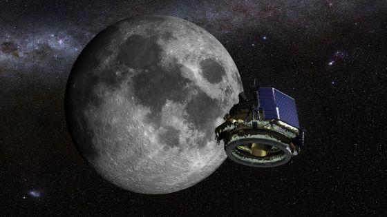 Mô hình tàu hạ cánh Mặt Trăng của Moon Express.