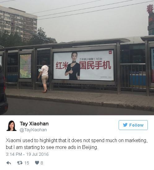 Thay đổi chiến lược, Xiaomi bắt đầu quảng cáo nhiều hơn.