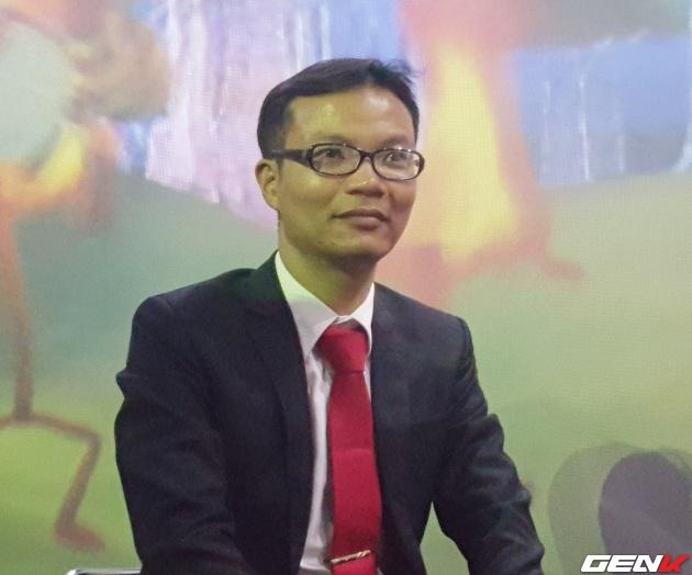 Ông Vũ Quang Hải, Giám đốc Công ty Nghiên cứu Đầu tư Phát triển Công nghệ và Kinh doanh Quốc tế (IRTC).