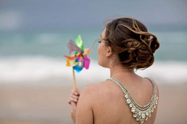 Một bà tiên đã xuất hiện tại đám cưới của Jessica, như trong truyện cổ tích