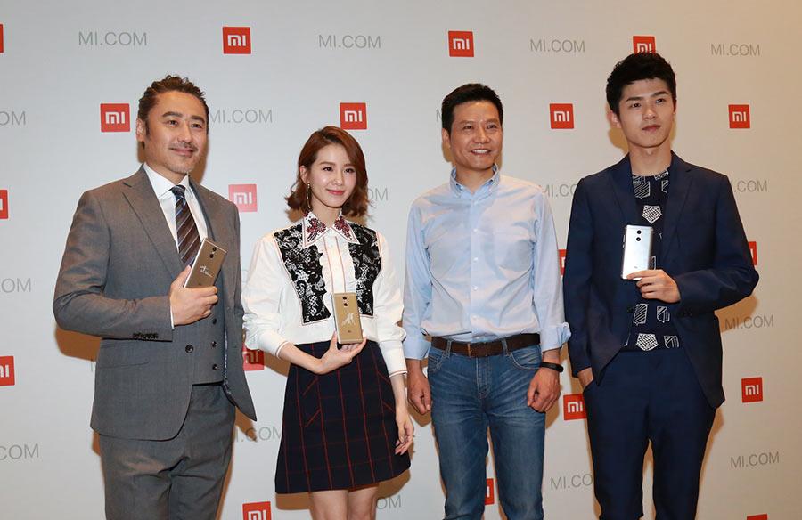 Xiaomi đã phải mời cả ngôi sao điện ảnh Lưu Thi Thi làm đại diện sản phẩm.