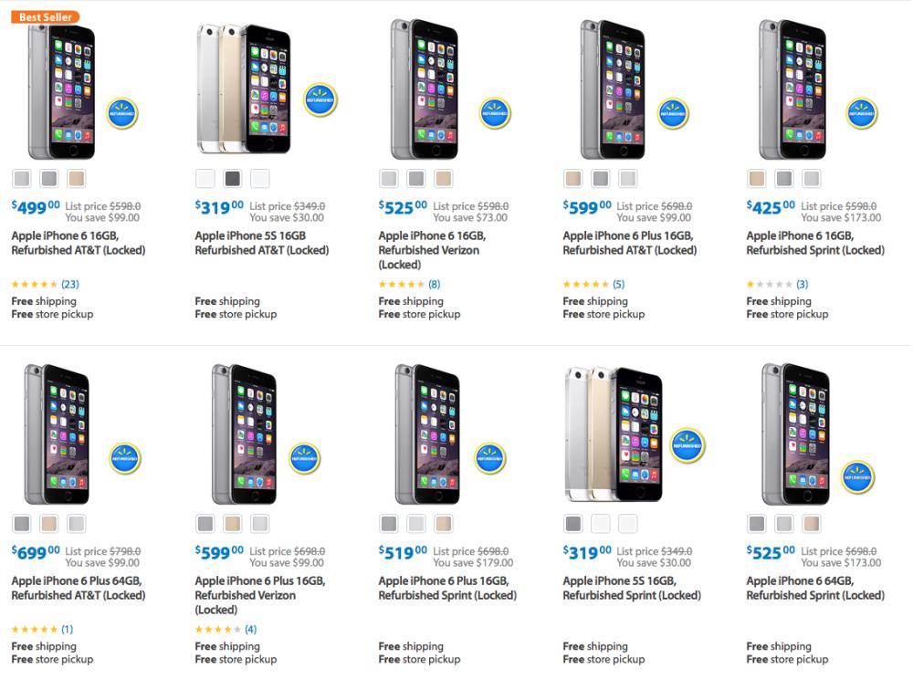 Apple cũng bán iPhone Refurbished với giá bằng 69% iPhone mới.