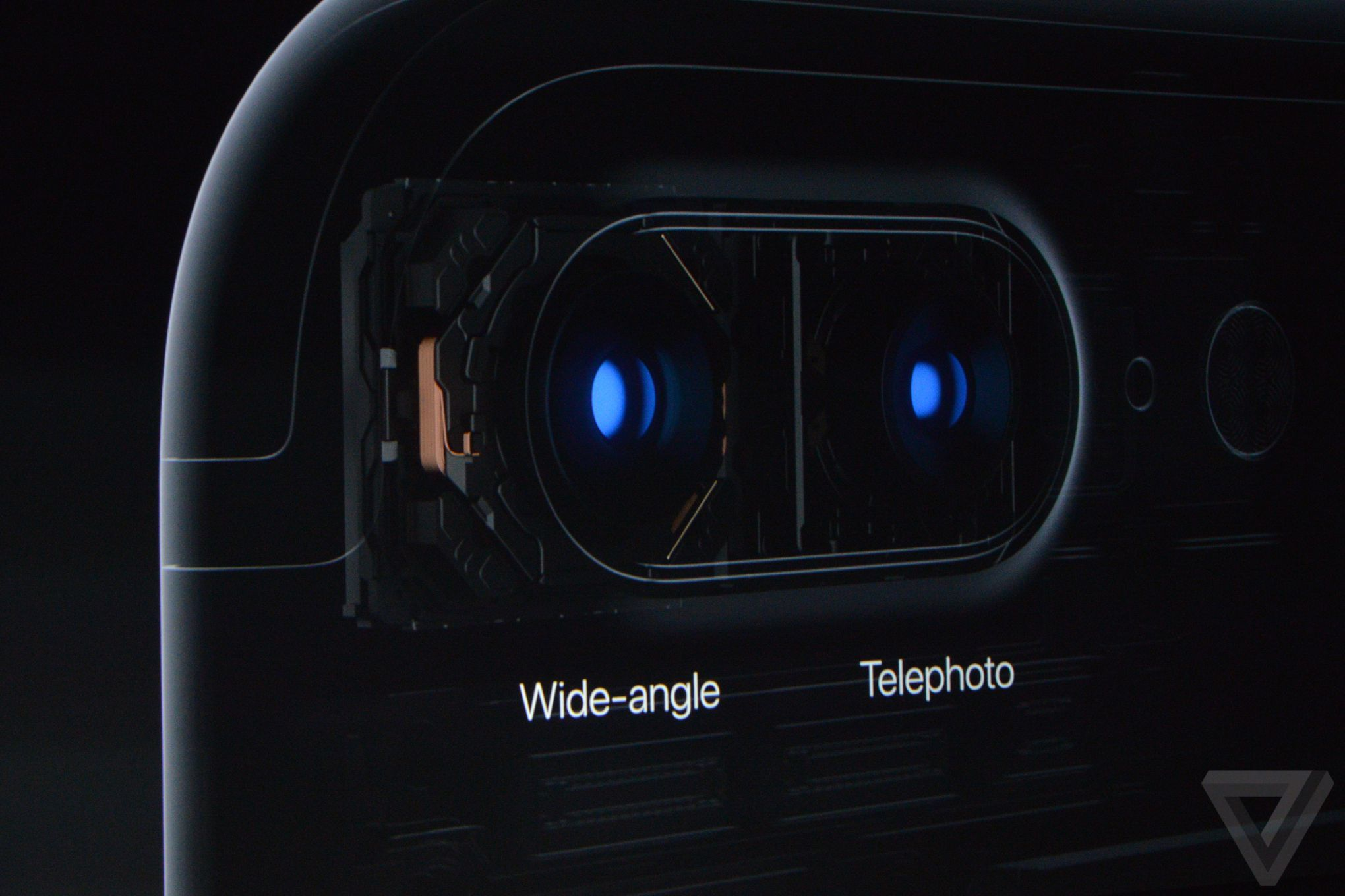 Camera kép trên iPhone 7 Plus.