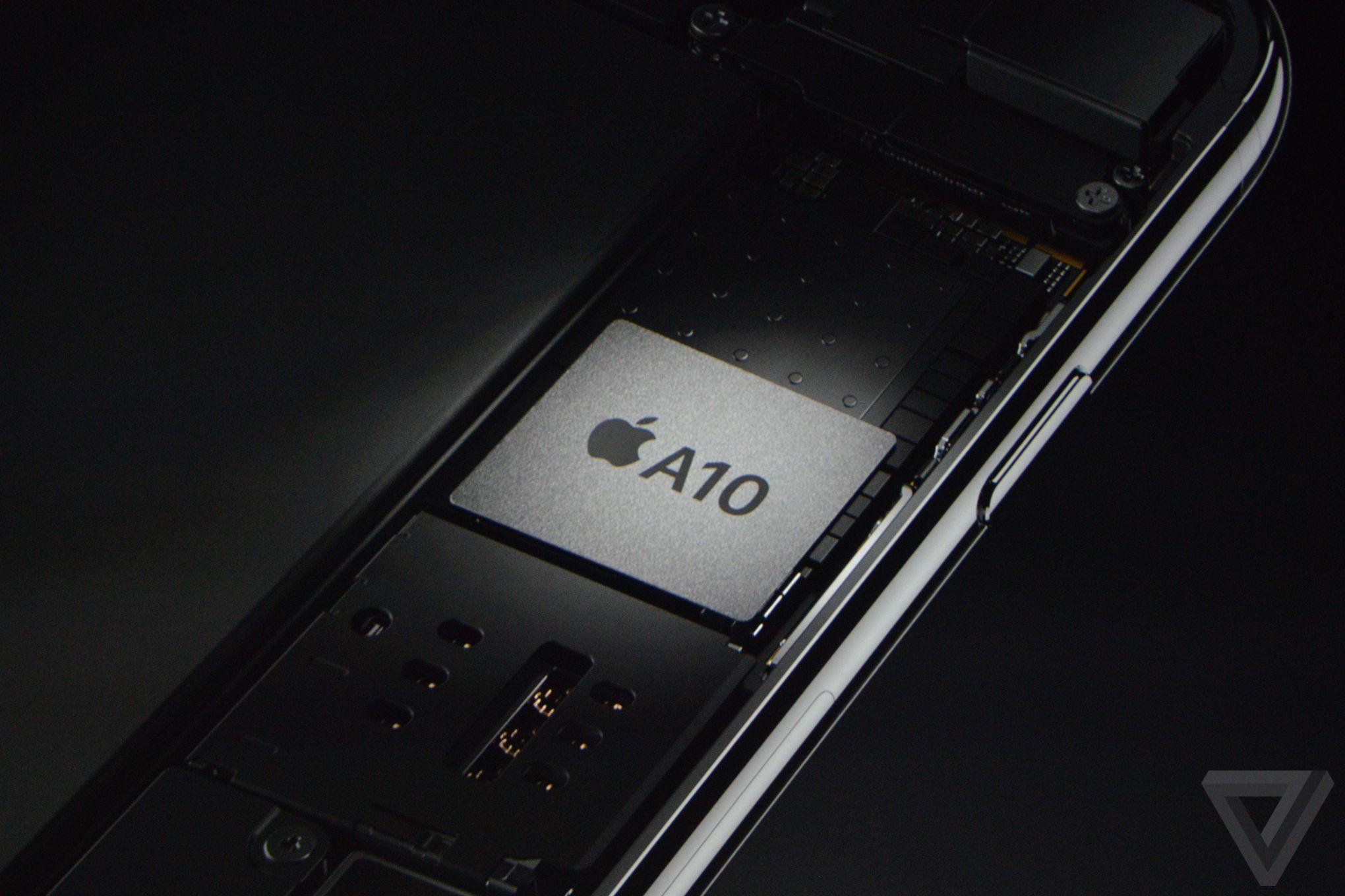 Chip A10 4 lõi.