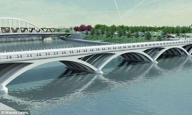 Cây cầu được thiết kể bởi những nhà nghiên cứu tại Đại học Warwick sẽ không có điểm yếu nào.