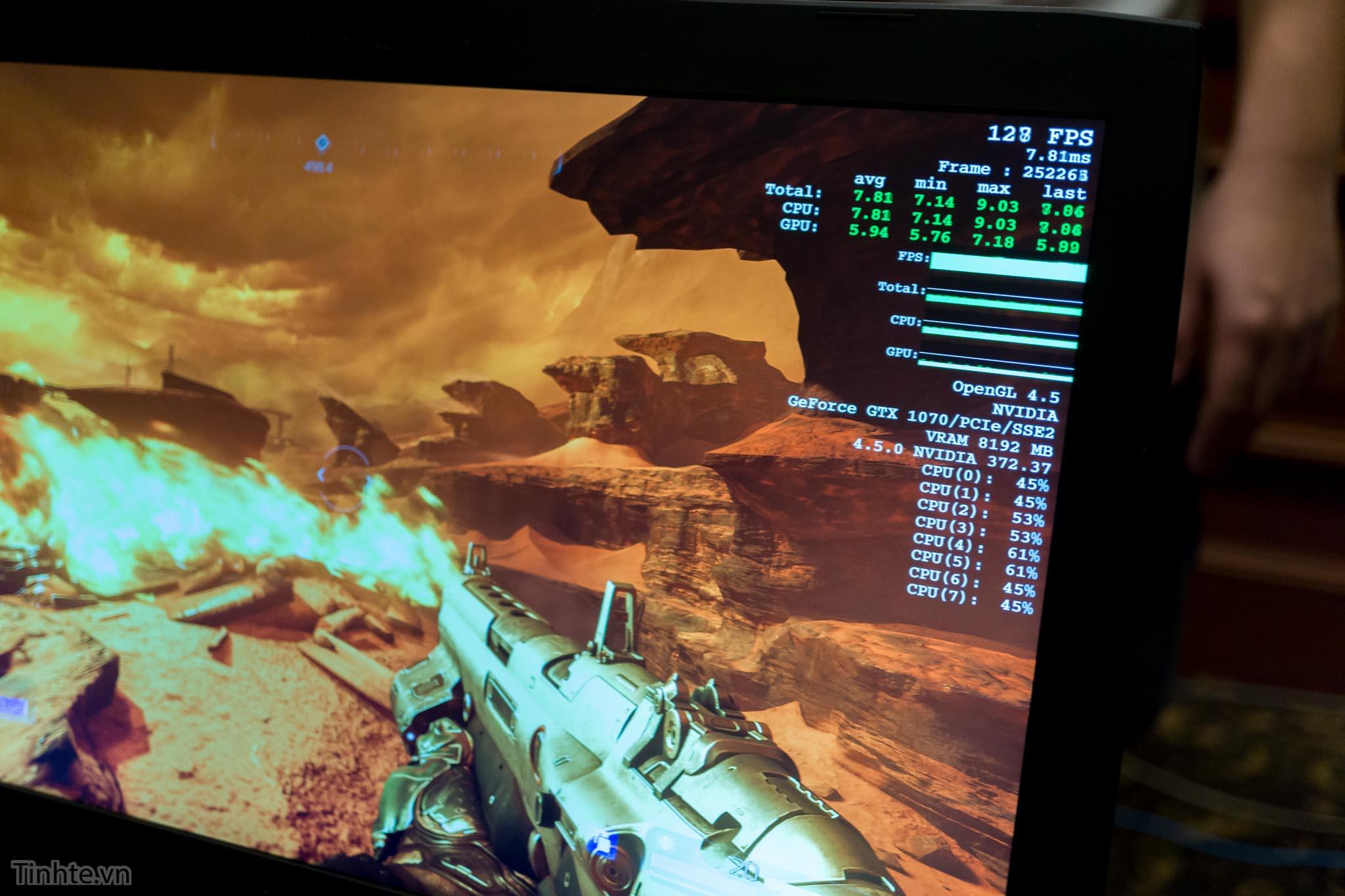 DOOM Full-HD, FPS hơn 120