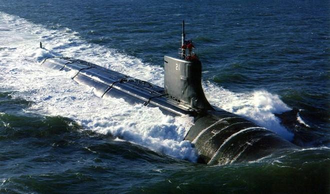 Tàu ngầm Jimmy Carter, sát thủ dưới lòng biển.