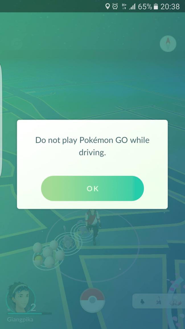 Luôn xuất hiện một cảnh báo với người chơi.