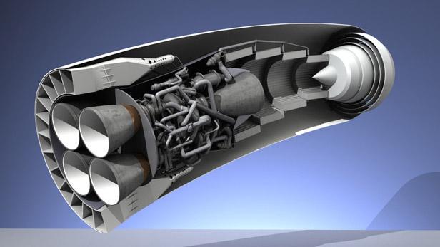 Động cơ SABRE của Reaction Engines.