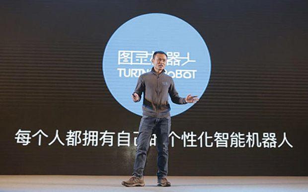 CEO của Turing Robot, ông Yu Zhichen.