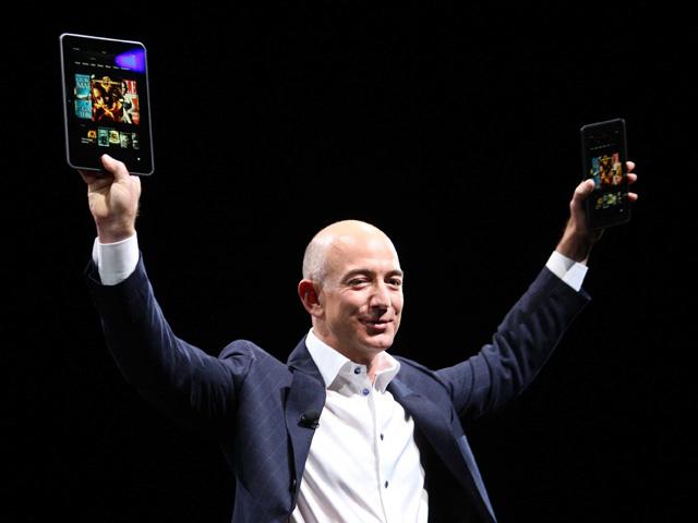 Jeff Bezos, nhà sáng lập, CEO của Amazon.