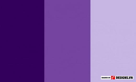 Ví dụ về điều chỉnh sáng tối bằng cách pha thêm trắng hoặc đen vào màu đơn sắc (Nguồn: Design.vn)