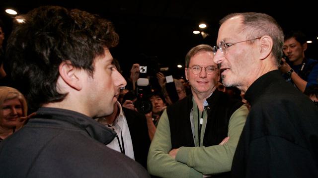 Apple và Google đã từng là bạn tốt.