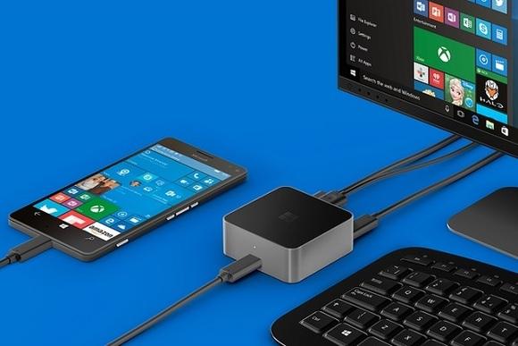 Continuum, tính năng hàng đầu của Windows 10 Mobile nhấn mạnh vào khả năng làm việc chứ không phải giải trí