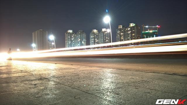 Lumia 950 - phơi 4 giây, ISO 100.