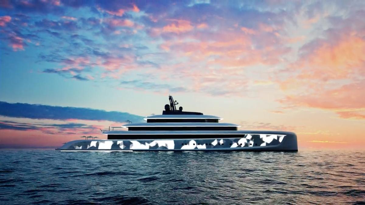 Chiếc du thuyền này hiện vẫn đang ở dạng ý tưởng, được thực hiện bởi Oceanco và Van Geest.