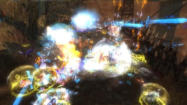 Webgame 3D thế hệ mới Kiếm Tung bùng nổ với máy chủ mới Lam Kiếm