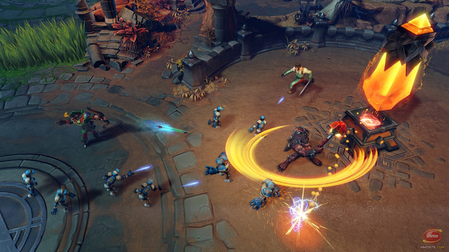 Arena of Fate - MOBA hot hé lộ gameplay tuyệt đẹp