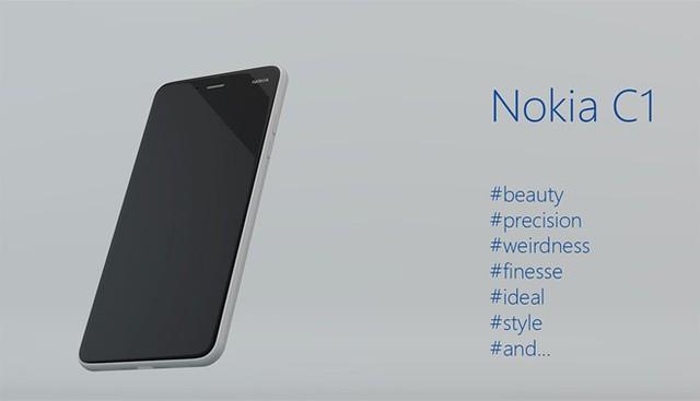 Bản mẫu Nokia C1 chạy Android giống hệt iPhone 6