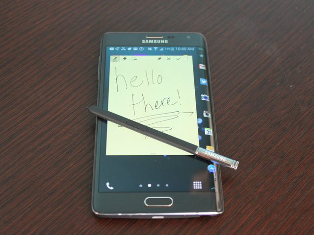 It comes with a stylus for drawing or taking notes.