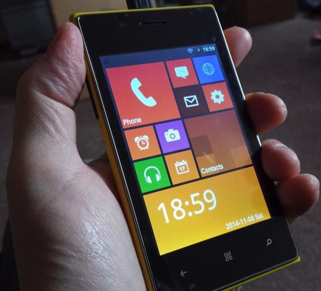 Điện thoại nhái Lumia 1020 giá gần 700.000 đồng