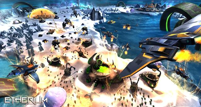 Etherium - Game chiến thuật không gian ấn tượng