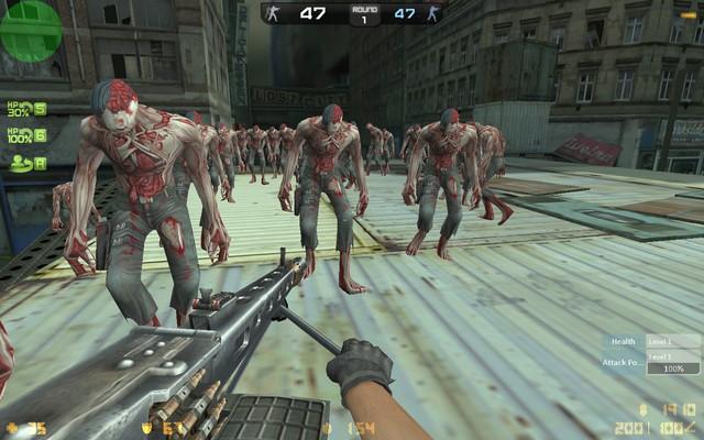 Chế độ bắn Zombie trong Counter-Strike Online