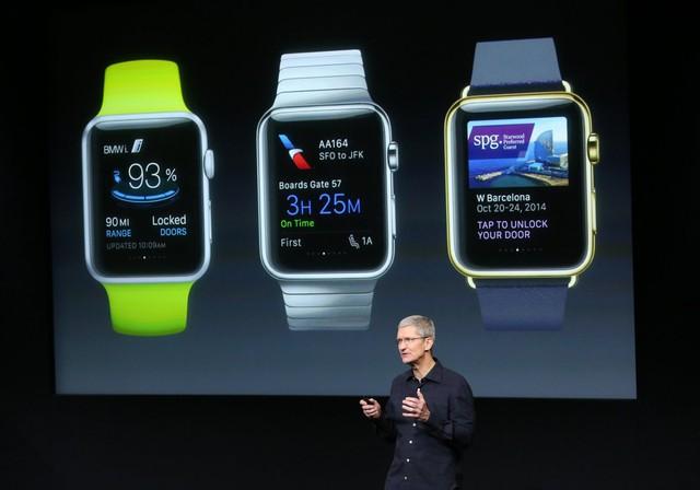 Apple Watch sẽ chính thức lên kệ