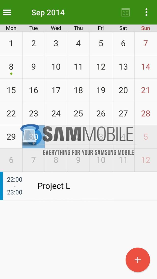 Lộ diện phiên bản Android L dành riêng cho Galaxy S5