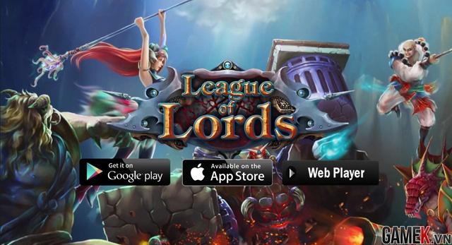 Game thuần Việt League of Lords sẽ ra mắt vào 7/1/2015