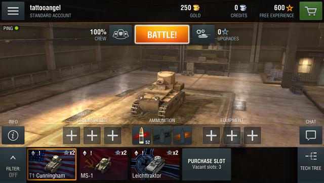 World of Tanks Blitz ra mắt phiên bản Android