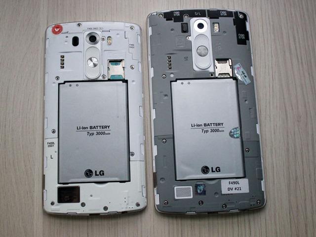LG G3 và LG G3 Screen đều sử dụng viên pin 3.000 mAh nhưng do màn hình lớn hơn nên thời lượng pin của G3 Screen có thể sẽ không tốt bằng.