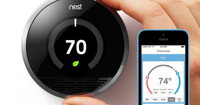 Hệ thống kiểm soát nhiệt của Nest