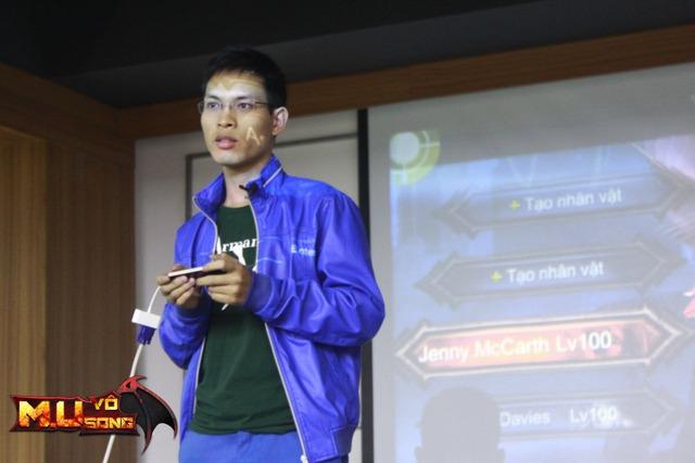 Tô Đức Quỳnh – Kỷ lục gia Việt Nam, người đã dành 10 năm viết tiểu thuyết MU sẽ cùng tham gia phát triển MU Vô Song