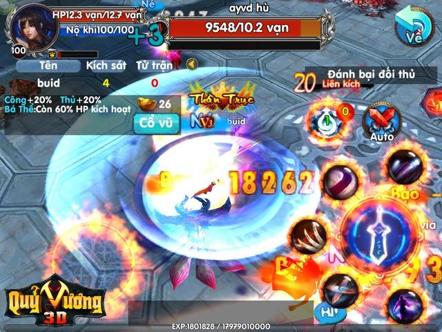 Chiến đấu trong game ARPG đòi hỏi người chơi phải có kĩ năng dùng skill tốt