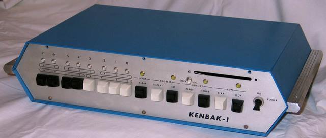 Chiếc máy tính cá nhân đầu tiên Kenbak-1
