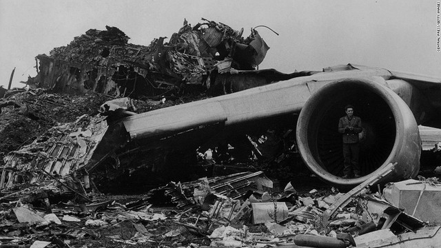 Những gì còn lại sau vụ tai nạn thảm khốc.