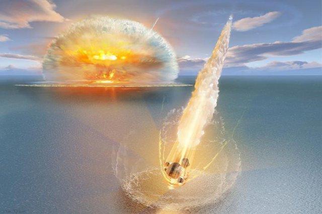 Một Meteor Tác động kép Lượt Thụy Điển 468 triệu năm trước