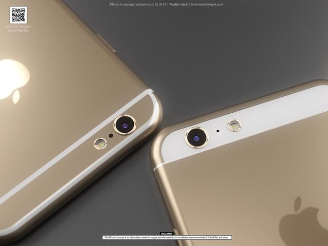 iPhone 6 concept comparison